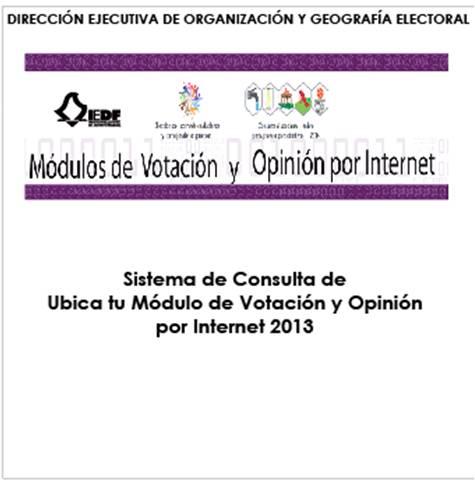 Geografía Electoral Local Y De Participación Ciudadana